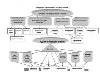 Структура управления СОШ №11
